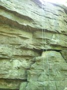 ROTC Route On Rappel Rock At Rim Road Climbing Area