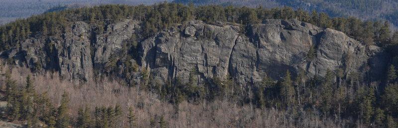 Rock Climbing Photo: C Chimney Cliff.