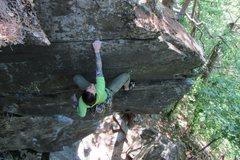 Rock Climbing Photo: top of Danger