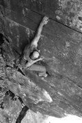 """Rock Climbing Photo: Jakob """"danger"""" montoya climbs Danger"""