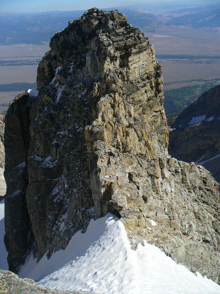 Rock Climbing Photo: Dike Pinnacle from the Middle