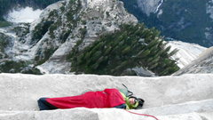 Rock Climbing Photo: Waking up on Big Sandy