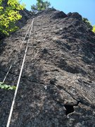Rock Climbing Photo: The very last section