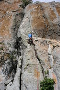 """Rock Climbing Photo: Mario Mariola at """"Fenda de Anita?"""