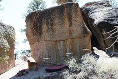 Rock Climbing Photo: Layer Cake North face topo