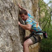 Rock Climbing Photo: In the cyclopes area.  On Sleeping in a ziplock ba...