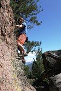 Rock Climbing Photo: Enjoying the pleasure of Problem C