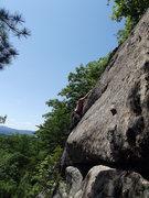 Rock Climbing Photo: Jon post crux