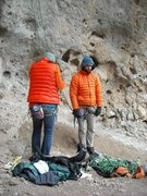 """Rock Climbing Photo: this one, i call """"missed side-pull, in orange..."""