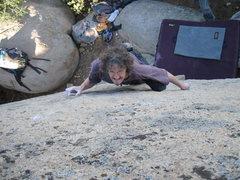 Rock Climbing Photo: Woodward on HDTV