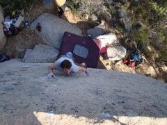 Rock Climbing Photo: John Weinberg on HDTV