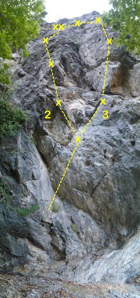 Avalanche Buttress<br> 2. [[107674153]] 5.10<br> 3. [[107674174]] 5.10