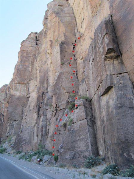 Rock Climbing Photo: Leela