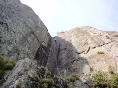 Rock Climbing Photo: This photo shows Cenotaph Corner (obvious)and Ceme...