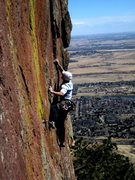 Rock Climbing Photo: Local Curt MacNeill climbing on a beautiful winter...