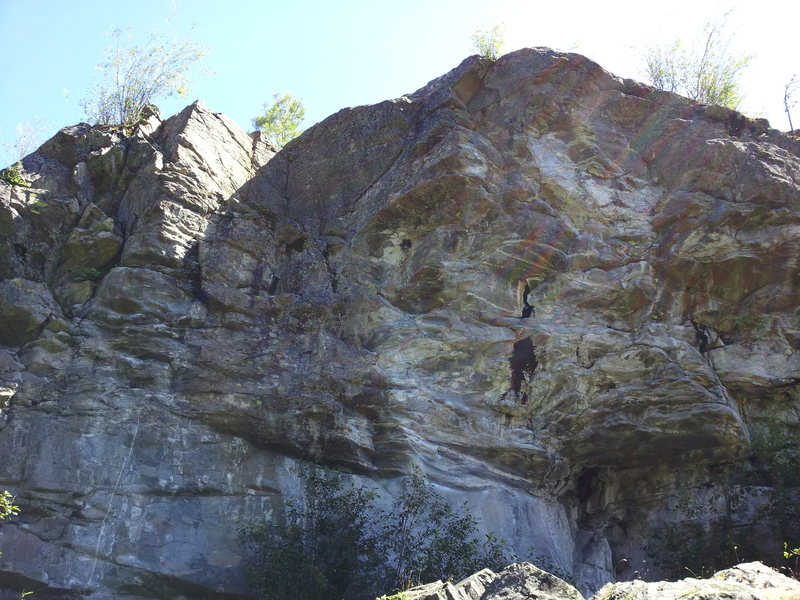 Rock Climbing Photo: Leftish side of DFW.