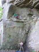 Rock Climbing Photo: summersville - narcissus