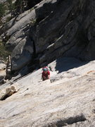 Rock Climbing Photo: Tim Kearns, on the great second pitch of El Whampo