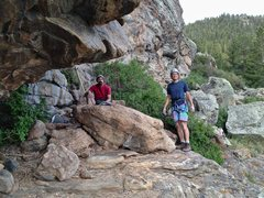 Rock Climbing Photo: Diana and I found the industrious Richard Wright c...