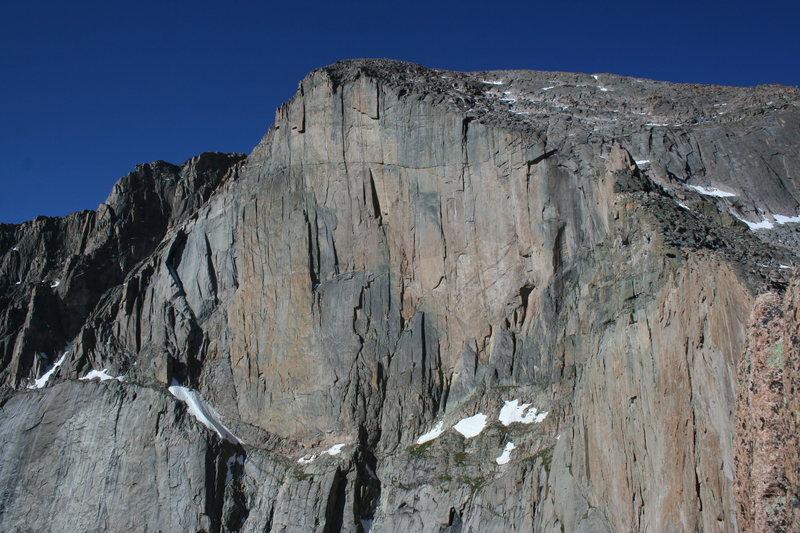 Rock Climbing Photo: The Diamond.
