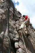 Rock Climbing Photo: fear of gear 5.7 ***