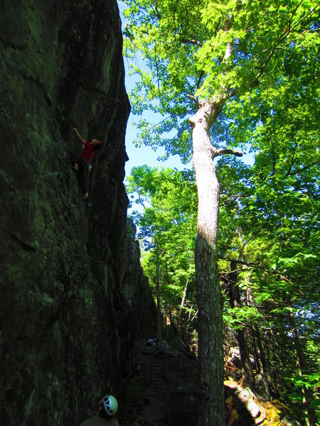 Rock Climbing Photo: Solaris