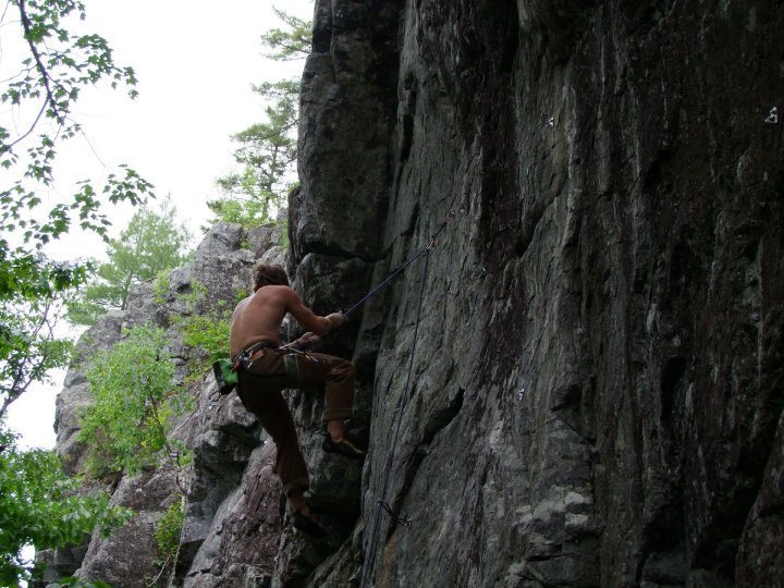 Rock Climbing Photo: fall on RA