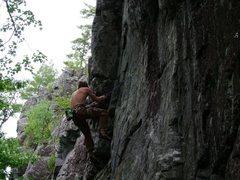 Rock Climbing Photo: fall on RA
