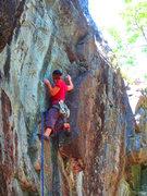 Rock Climbing Photo: Start of DE