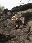 Rock Climbing Photo: Shirtless on Easter weekend!
