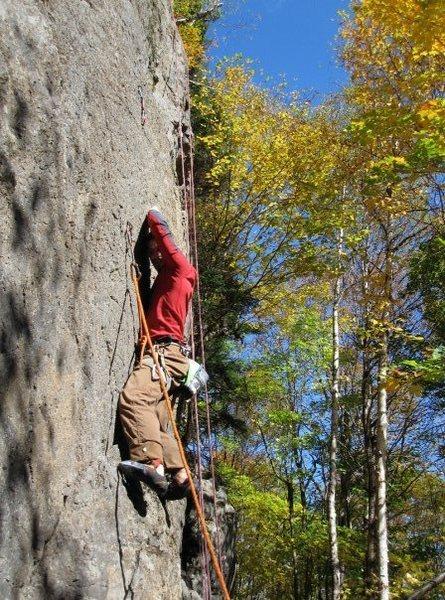 Rock Climbing Photo: FFA of Jester in 2009