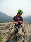 Rock Climbing Photo: Top!
