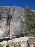Rock Climbing Photo: At the chains of Polski Wyrob after mistakenly tak...