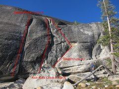 Rock Climbing Photo: Sweet'n Low and nearby routes.
