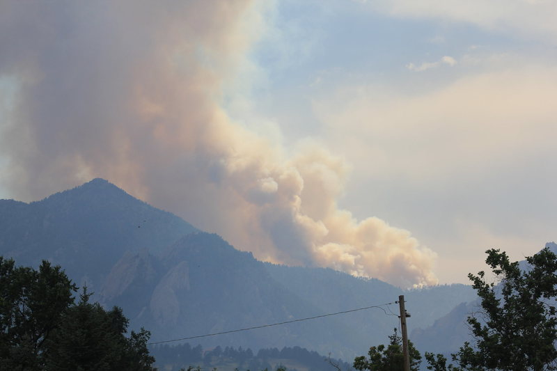 Boulder fire.