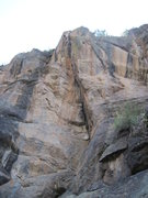 Rock Climbing Photo: Unknown corner right of Lucky Streak. Climbable?
