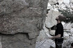 Rock Climbing Photo: Big cottonwood