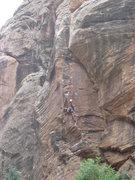 Rock Climbing Photo: Unknown climber on Has Bro