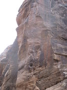 Rock Climbing Photo: Caligula can be seen on the left and Picture me Ro...