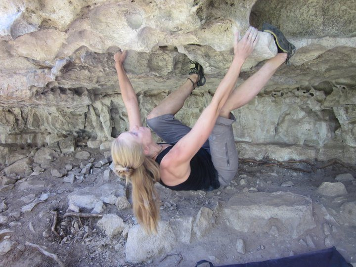 Rock Climbing Photo: Bouldering Priest Draw