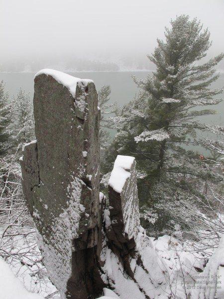 Rock Climbing Photo: The Tomahawk