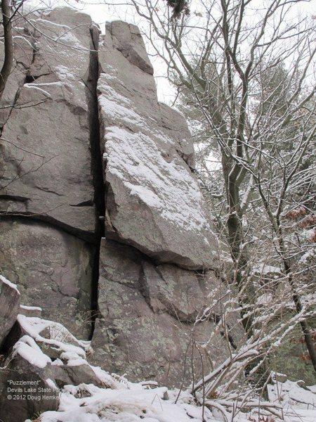 Rock Climbing Photo: Puzzlement