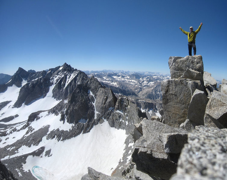 Rock Climbing Photo: Mt. Agassiz