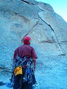 Rock Climbing Photo: Go!