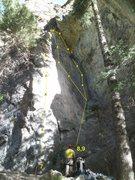 Rock Climbing Photo: Cannabis Wall  7. Mission Control 5.12a 8. Three A...