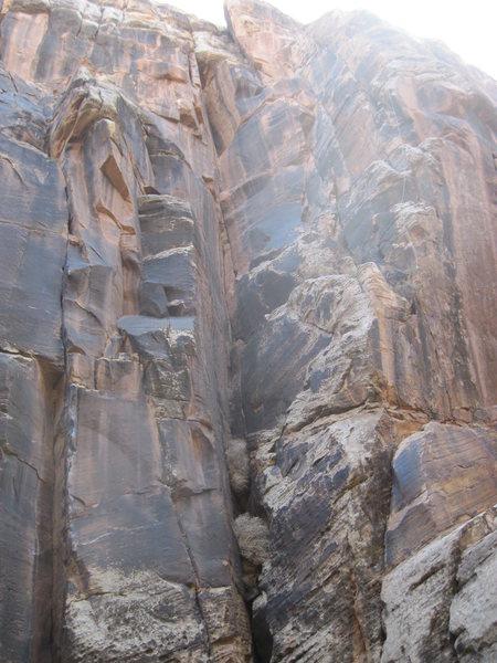 Rock Climbing Photo: Corner between Anti Venom and Saturday the 14th. I...