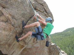 Rock Climbing Photo: Climbing the Ball Scratcher back in 2007.
