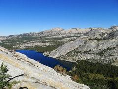 Rock Climbing Photo: the NW Buttress slabs begin