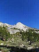 Rock Climbing Photo: NW Buttress route on Tenaya Peak