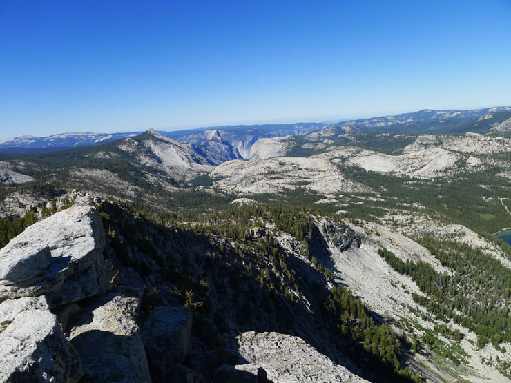 the Valley from the summit of Tenaya
